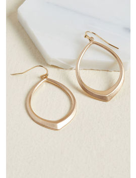 Glimmer Of Hoop Earrings by Modcloth