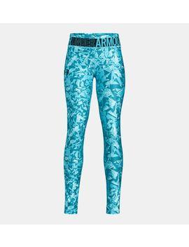 Heat Gear® Armour Novelty Girls' Leggings by Under Armour