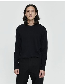 L/S Brushed Cotton Tee by Reigning Champ