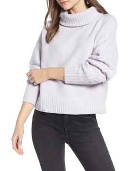 Cozy Textured Turtleneck by Something Navy