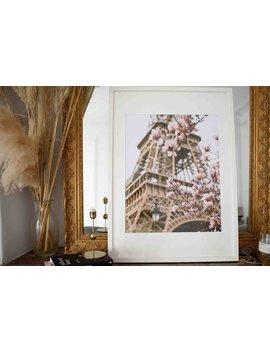 Paris In Bloom 60 X 40 Cm (23,6 X 15,7 In) by Etsy