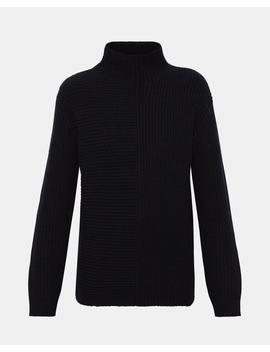 Oversized Funnel Sweater by Theory