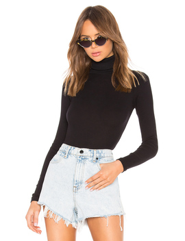 Rib Turtleneck Bodysuit by Re/Done