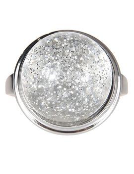 Mm6 Maison Margiela Crystal Ring by Mm6 Maison Margiela