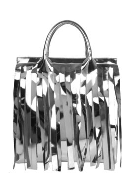 Mm6 Maison Margiela Mirrored Large Tote Bag by Mm6 Maison Margiela