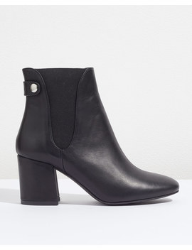 Makoto Heeled Chelsea Boot by Jigsaw