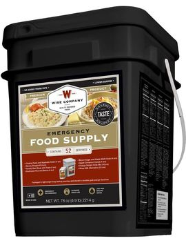Wise Company 52 Serving Prepper Bucket by Wise
