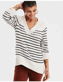 Ae Chunky V Neck Pullover by American Eagle Outfitters