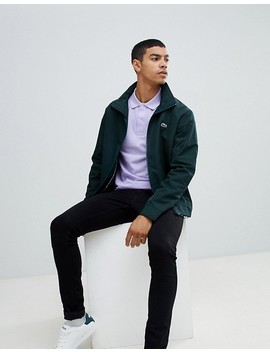 Lacoste Zip Through Jacket In Green by Lacoste