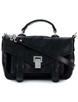 Embossed Croc Tiny Ps1+ by Proenza Schouler