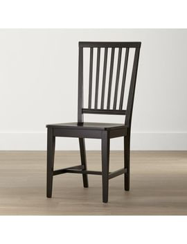 Village Pinot Lancaster Wood Dining Chair by Crate&Barrel