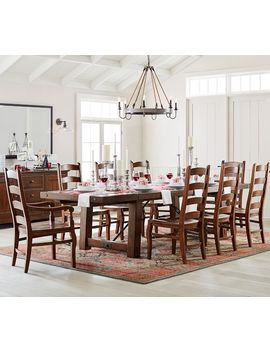 Benchwright Extending Dining Table by Pottery Barn