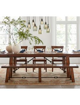 Benchwright Dining Bench by Pottery Barn