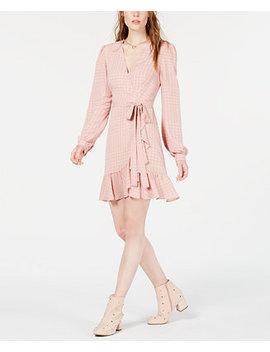 Ruffled Wrap Dress by Leyden