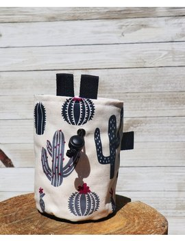 Cactus Chalk Bag// Plant Climbing Bag by Etsy
