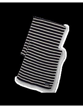 Striped Wool Blend Scarf by Ralph Lauren
