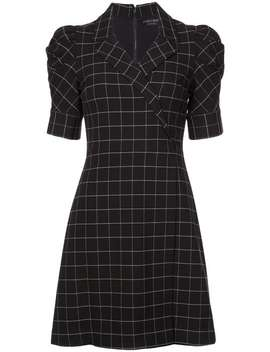 Check Print Dress by Alice+Olivia