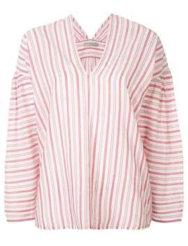 Striped Blouse by Vince