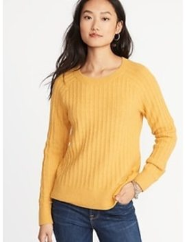Rib Knit Sweater For Women by Old Navy