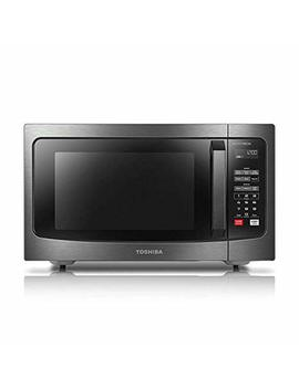 Toshiba Em245 A5 C Bs Microwave Oven With Inverter Technology, Lcd Display And Smart Sensor, 1.6 Cu.Ft/1250 W, Black Stainless Steel by Toshiba