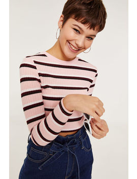 Basic Crop Knitted Sweater by Ardene