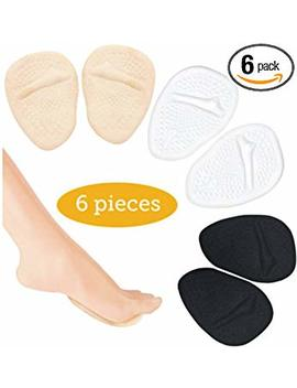 High Heel Cushions  Ball Of Foot Pads  Non Slip Shoe Inserts   Forefoot Metatarsal Pads For Women & Men For Foot Pain Relief  High Heel Inserts For Shoe... by Pedi Soother Solutions