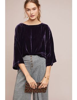 Romantic Velvet Top by Cupcakes And Cashmere