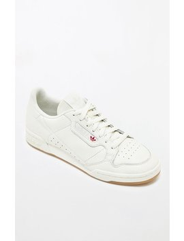 Adidas Continental 80 White & Gum Shoes by Pacsun