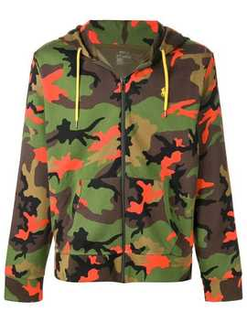 Camouflage Print Hoodie by Polo Ralph Lauren