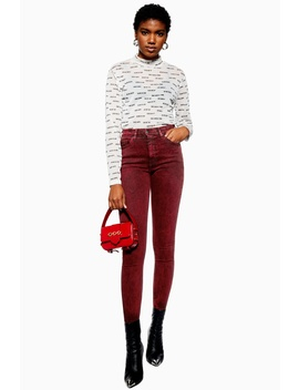 Acid Red Jamie Jeans by Topshop