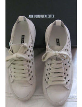 Ann Demeulemeester Suede Leather Sneakers Leather Nib Sz 8 by Ann Demeulemeester