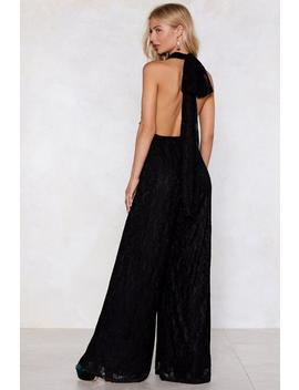 Back At It Again Lace Jumpsuit by Nasty Gal