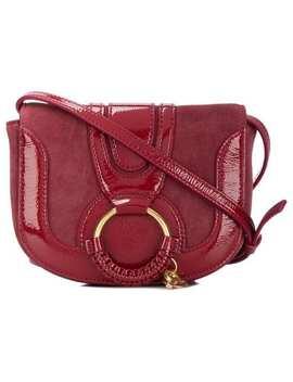 Small Hana Cross Body Saddle Bag by See By Chloé