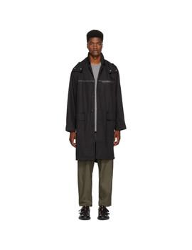 Black Oversized Parka Coat by 3.1 Phillip Lim