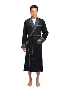 Mens Long Silk Satin Robe   Fully Lined Heavy Weight  Usa Seller   Fast Ship by Ebay Seller