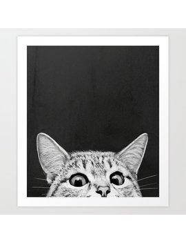 You Asleep Yet? Art Print by