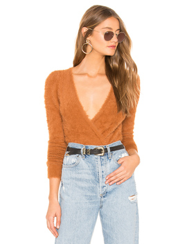 Coco Wrap Sweater by Majorelle