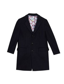Baker By Ted Baker   Boys' Navy Wool Blend Coat by Baker By Ted Baker