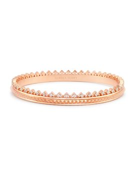 Mary Caroline Bangle Bracelet In Rose Gold by Kendra Scott