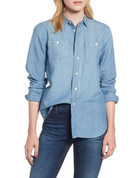 Relaxed Chambray Boy Shirt by J.Crew