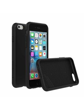 Rhino Shield Case For I Phone 6 / I Phone 6 S [Not Plus] | [Play Proof] | Heavy Duty Shock Absorbent [High Durability] Scratch Resistant. Ultra Thin. 11ft Drop Protection Rugged Cover   Black by Rhino Shield