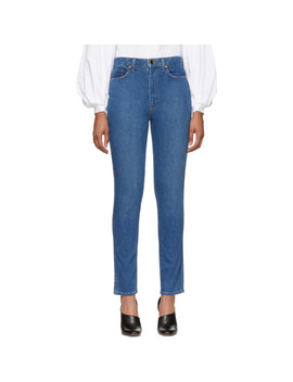 Blue Vanessa Jeans by Khaite