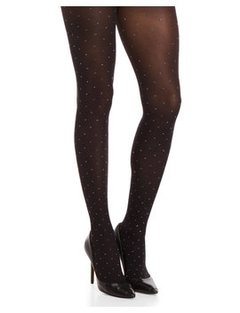 Opaque Metallic Dot Tights by Emilio Cavallini
