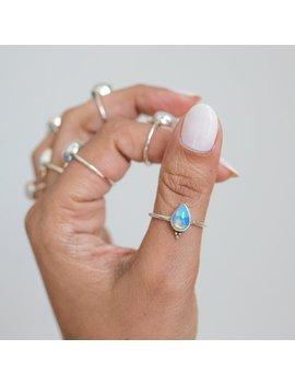 Pear Opal Ring, Best Friend Rings by Etsy