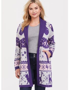 Sailor Moon Fair Isle Cardigan by Torrid