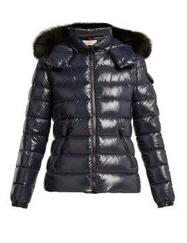 Badyfur Nylon Quilted Jacket by Moncler