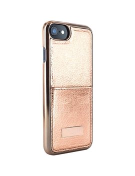 Korrii Standard Case For Apple® I Phone® X And Xs   Rose Gold by Ted Baker