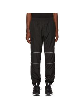 Ssense Exclusive Black Nylon 3 M Track Pants by Scorpion For Ssense
