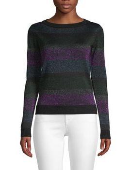 Striped Crewneck Sweater by Lea & Viola