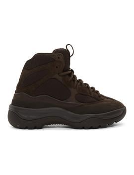 Black Desert Boots by Yeezy